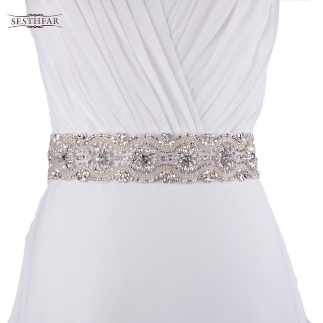 S04 Crystal Rhinestones Evening Party Prom Dresses Accessories ...