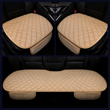 KKYSYELVA  Easy Install Car Seat Cushion Cover Universal Auto Front Back Seat Covers Car Chair Mat Pad Interior Accessories car styling elastic polyester car seat covers front back seat cushion cover auto chair universal fit interior accessories