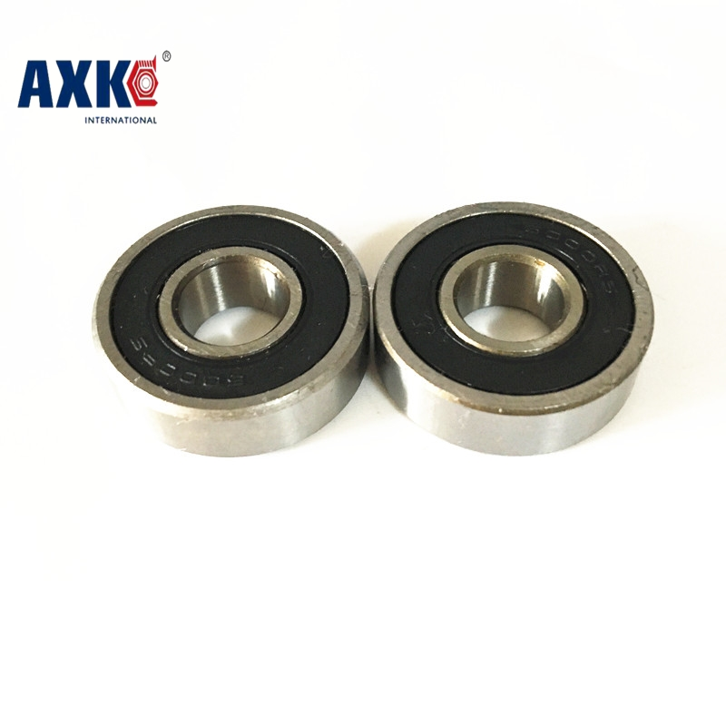 free shipping 10pcs 6200-2RS 6200 rs 10*30*9 mm double Rubber sealing cover deep groove ball bearing 608 2rs 608rs 608 2rs 8mmx22mmx7mm double purple rubber sealing cover deep groove ball bearing for skate scooter abec 9