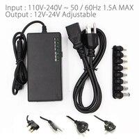 12V 15V 16V 18V 19V 20V 24V Output Universal AC DC Power Adapter Charger For Laptop