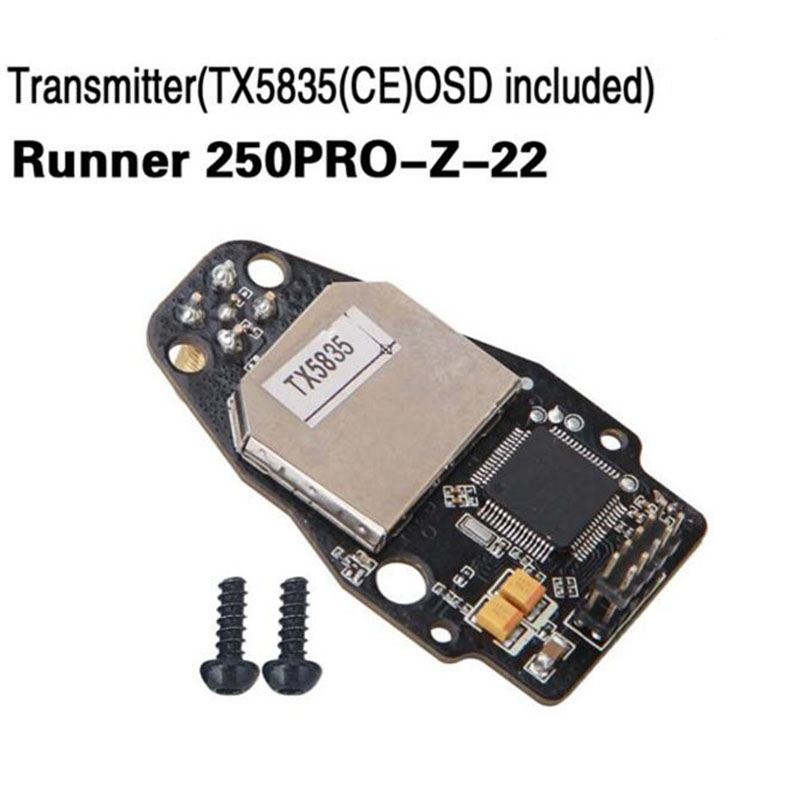 Walkera Runner 250PRO-Z-22 Transmitter(TX5835(CE) OSD included) Spare Parts for Walkera Runner 250 PRO Quadrocopter летняя шина cordiant road runner ps 1 185 65 r14 86h