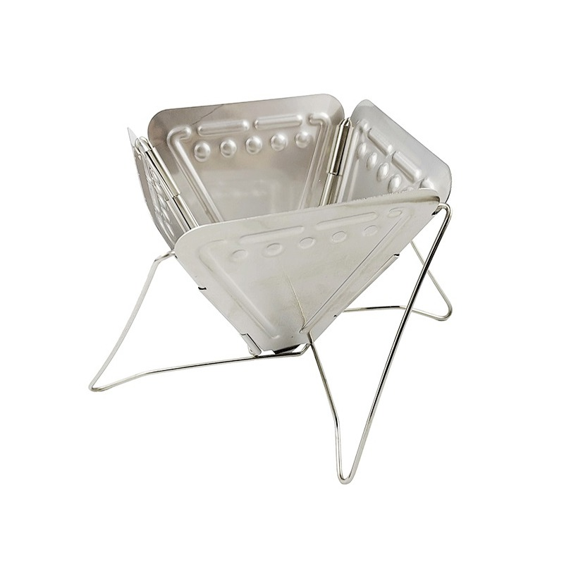 Camping Coffee Dripper Outdoor Portable Folding Drip Rack Stainless Steel Foldable Filter Hot sell