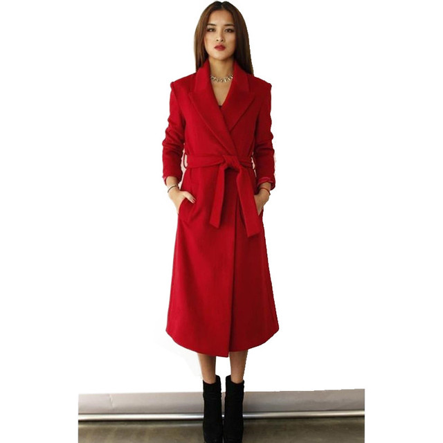 2017 Hot fashion women jacket Slim coat solid color Overcoat free shipping
