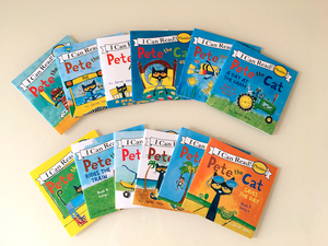 Image 3 - 12pcs/set I Can Read pete the cat English Picture Books Children story book Early Educaction pocket reading book 13x13 cm