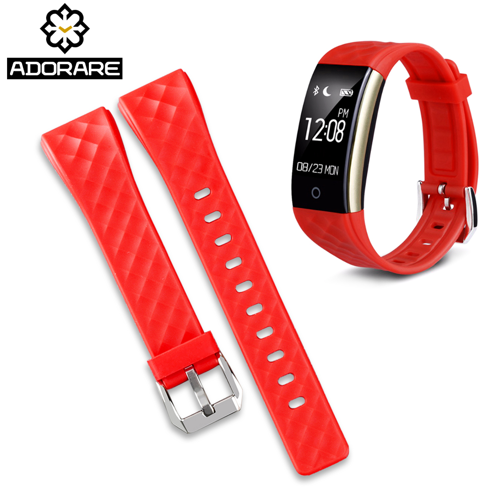 ADORARE S2 Watches Straps Silicone Belt Band Replacement Smart Watch Bracelets Accessories For S2 Smartwatches 3 colors straps цена и фото