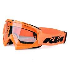 KTM Motocross Óculos De Proteção Óculos de Cross Country Ski Snowboard Máscara Oculos Gafas Motocross ATV Capacete Da Motocicleta MX Goggle
