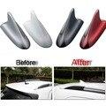 1 PCS DIY Carro Styling ABS Pintar Quatro Cores Modificadas Barbatana de tubarão Antena Caso Capa Peças de Adesivos para Chevrolet TRAX acessórios