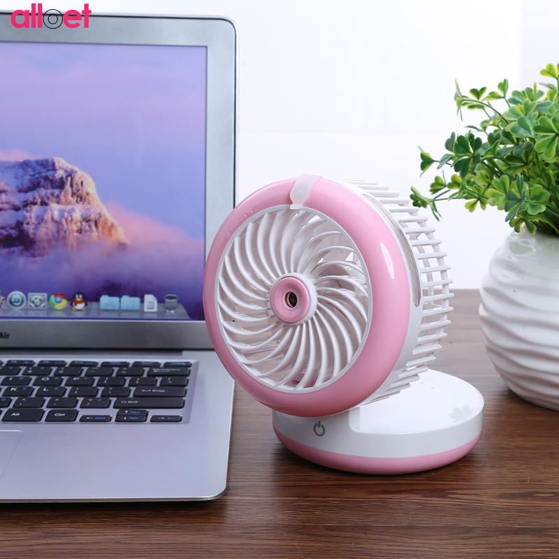 Creative Summer Spray Mini USB spray cooling air conditioning Fan Humidifier Charger Small Fan Mobile Power colorful wholesale summer spray mini usb fan humidifier charger small fan spray cooling air conditioning support power bank colorful wholesale