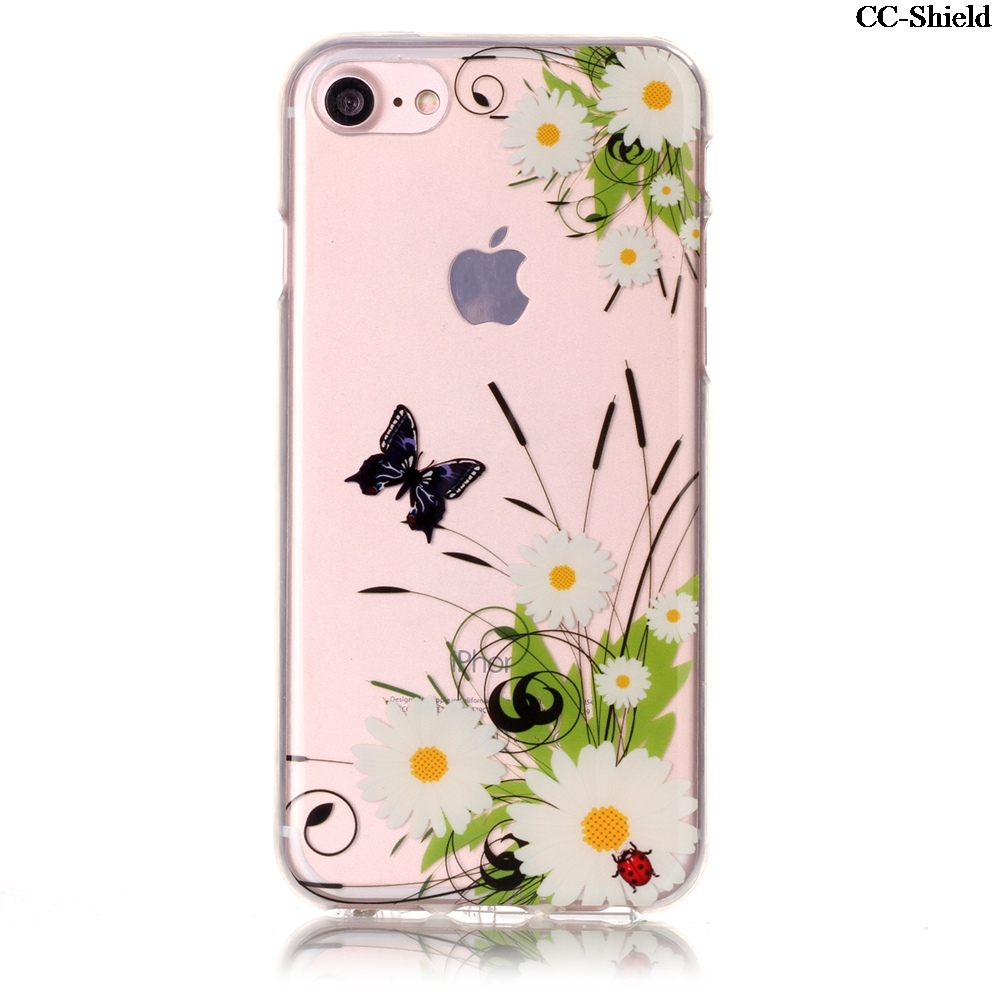 Fitted TPU Case for Apple iPhone 7 i Phone7 4.7 inch fashion Soft Silicone Phone Case for Apple i Phone 7 iPhone7 4.7 cases