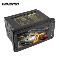 Vehemo Audio Video Player GPS DVD Player MP5 Player 7 Inches European Map Premium FM WIFI
