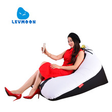 LEVMOON Beanbag Sofa Chair Naruto Seat zac Shell Comfort Bean Bag Bed Cover Without Filler Cotton Indoor Beanbag Lounge Chair