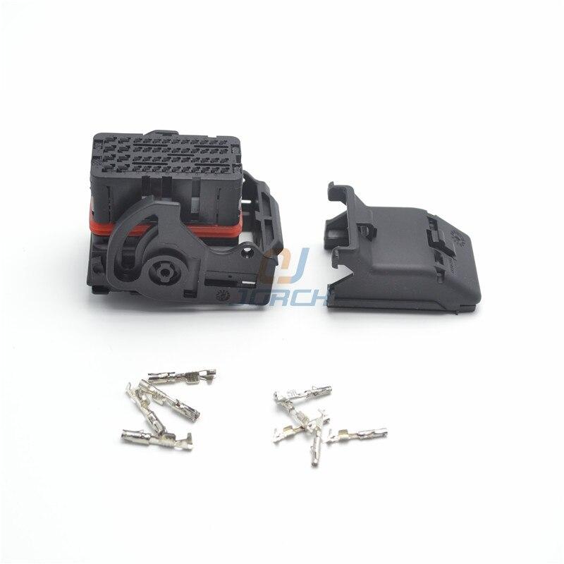 5 sets kits ecu female 48 pin automotive wiring harness. Black Bedroom Furniture Sets. Home Design Ideas
