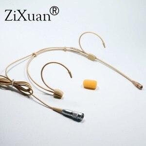 Image 3 - מקצועי אוזן תליית אוזניות Headworn מיקרופון הקבל Hypercardioid מיקרופון עבור Sennheiser Shure אלחוטי מיקרופון מערכת