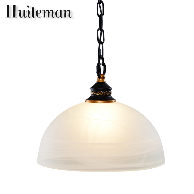New Indoor style E27 Pendant Lights Glass Lamp Luminaire Pendant Lamp Glass Lampshade Hang lamp Light For Bar Restaurant Loft new loft vintage iron pendant light industrial lighting glass guard design bar cafe restaurant cage pendant lamp hanging lights