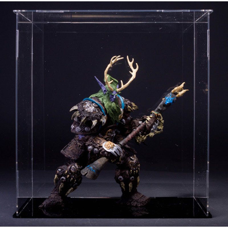 22cm Wow Online Game Night Elf Druid Broll Bearmantle Figure Figurine Collection Model Toy Exquisite Collectible Gift