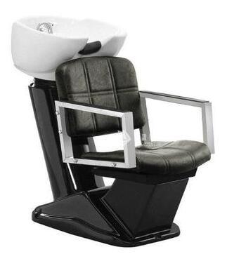 Купить с кэшбэком Hair salon seated flush bed. Ceramic basin barbershop half lying type mobile. Shampoo chair
