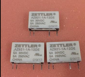relay AZ921-1AE-12DE AZ9211AE12DE 12VDC DC12V 12V DIP4 10PCS/LOT