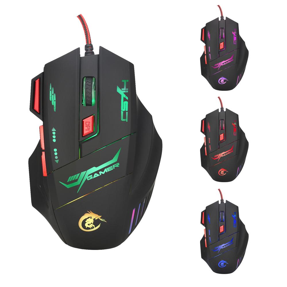 backlit gaming mouse