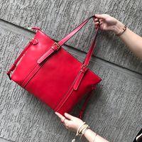 Kafunila Women S Vintage Genuine Leather Tote Shoulder Bag Handbag Work Tote Top Handle Bag Satchel