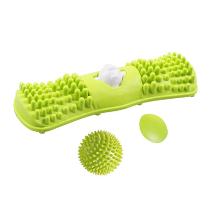 Foot Massager Muscle Relax Rolling Balls Massage Roller Massage Instrument Gym Sports Full Body Sport Tool Fitness Tool peanut shaped ball massager roller dual connecting balls muscle relax massage gym sport full body bar sport yoga fitness tool