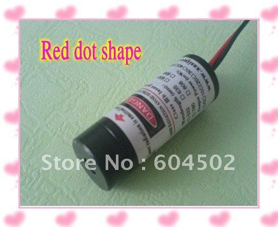Wholesale 1 pec 5mw 650nm Red Laser Module with Dot shape/lasers KBM650D5-3-1 free shipping