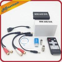 Super Mini Rejestrator DVR Do Nagrywania Pikseli 1.3MP AHD 2 W 1 mini AHD Cam Kanał Audio Wsparcie TF Karty 256 GB Detekcji Ruchu CCTV