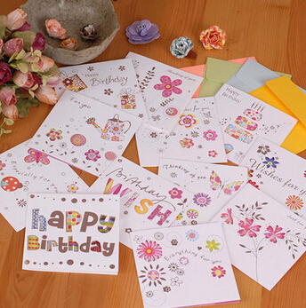 laser cut square greeting cardssmall cute birthday cards for kidsbirthday greeting cards - Wholesale Greeting Cards