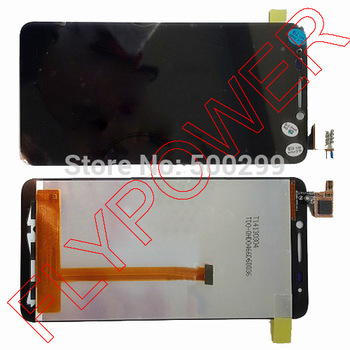 For Alcatel One Touch Idol TCL S820 LCD Display +digitizer touch Screen Assemblely Black by free shipping