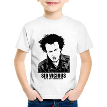 Sid Vicious Kids T-shirt Boys/Girls