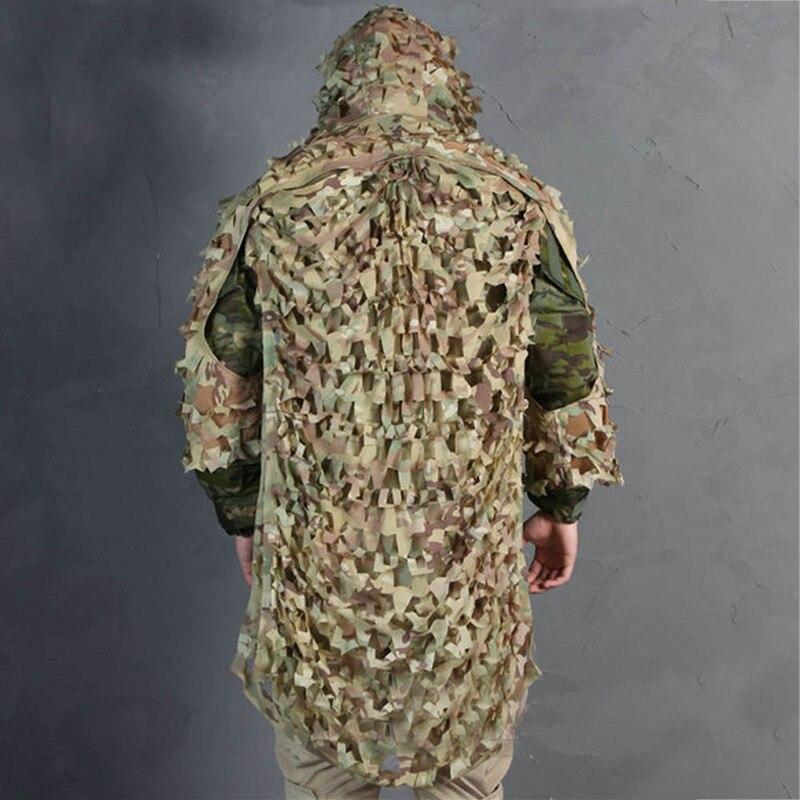 Sniper Ghillie costumes Camouflage assaut Multicam pour la chasse vêtements Sniper costume Camouflage vêtements livraison gratuite - 4