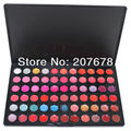 Free Shipping Professional Cosmetic 66 Color Gorgeous Lipsticks Lip Gloss Makeup Palette