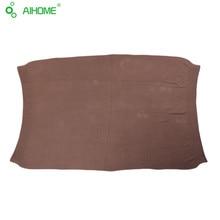 Детские вязаные одеяла Шерстяной пряжи 100% хлопчатобумажная нить вязание большой гибкости Использовать для путешествия nap диван декоративные одеяло