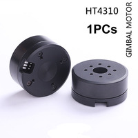 1PC 12.6mm Hollow Shaft Bore Brushless Gimbal PTZ Motor HT4310 With AS5048A/AS5600 Encoder BLDC 1000 2300 Camera DIY Part