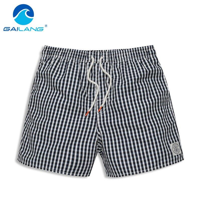 Gailang Brand Men's Beach Shorts Board Boxer Trunks Shorts Swimwear Swimsuits Men Casual Boardshorts Quick Drying Fashion Summer