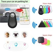 Мини модный Bluetooth 4,0 трекер gps локатор тег сигнализация кошелек ключ для питомца собаки трекер анти-потеря карманный размер смарт-трекер
