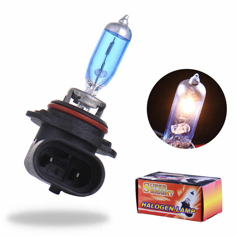 2pcs Super Bright White Bulb 9006 55W HB4 Auto Car Headlight Hight Power 55W Car Head Lamp Light Parking Hb4