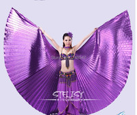 Fast Shipping Egyptian Belly Dance Costume Isis Wings Dance Wear Belly Wings No Sticks