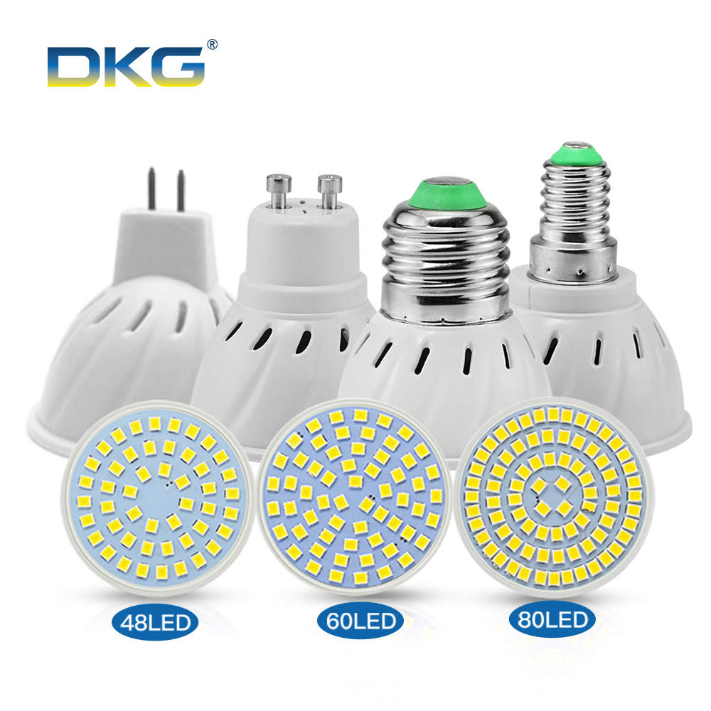 Led Lampen E14 Us 1 06 25 Off Led Bulb Spotllight Gu10 E27 Led Lampen E14 110v 220v 2835 Smd 48 60 80 Leds Lamp Spot Light Bombillas For Chandelier Lighting In