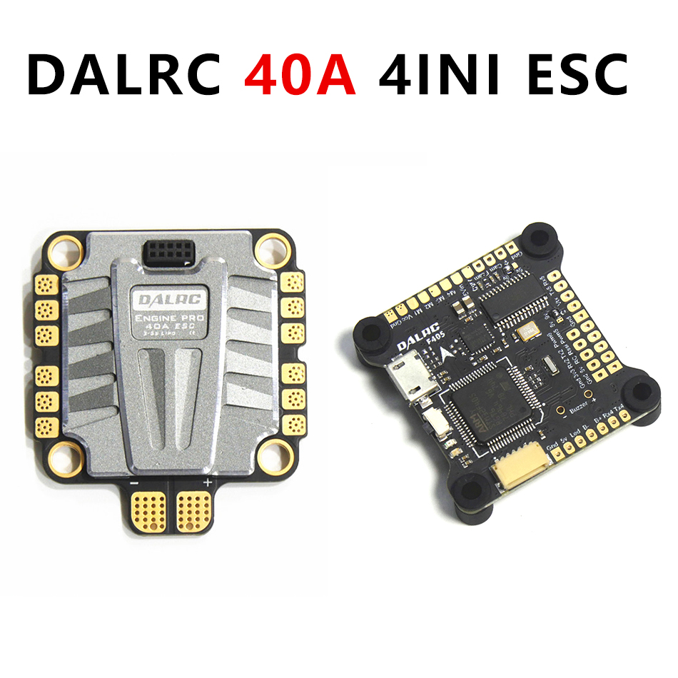DALRC Rocket 40A 4 in 1 ESC 3S 6S Blheli 32 ESC Support Dshot1200 Multishot Brushless
