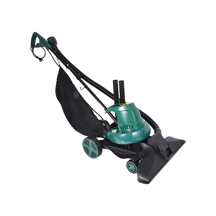 ZJMZYM 3 in 1 D5881/VB-RTK-500 Electric Leaf Suction Machine Four-wheeled Handheld 1600W Powerful Leaf Blower & Vacuum 220v/50Hz image