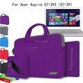 Новый Ноутбук Сумка 13.3 Ноутбук Рукав 4in1 Мягкий Чехол для Acer Aspire 13 V3/S 13 13.3 13,3-дюймовый Ультрабук Компьютер мешок