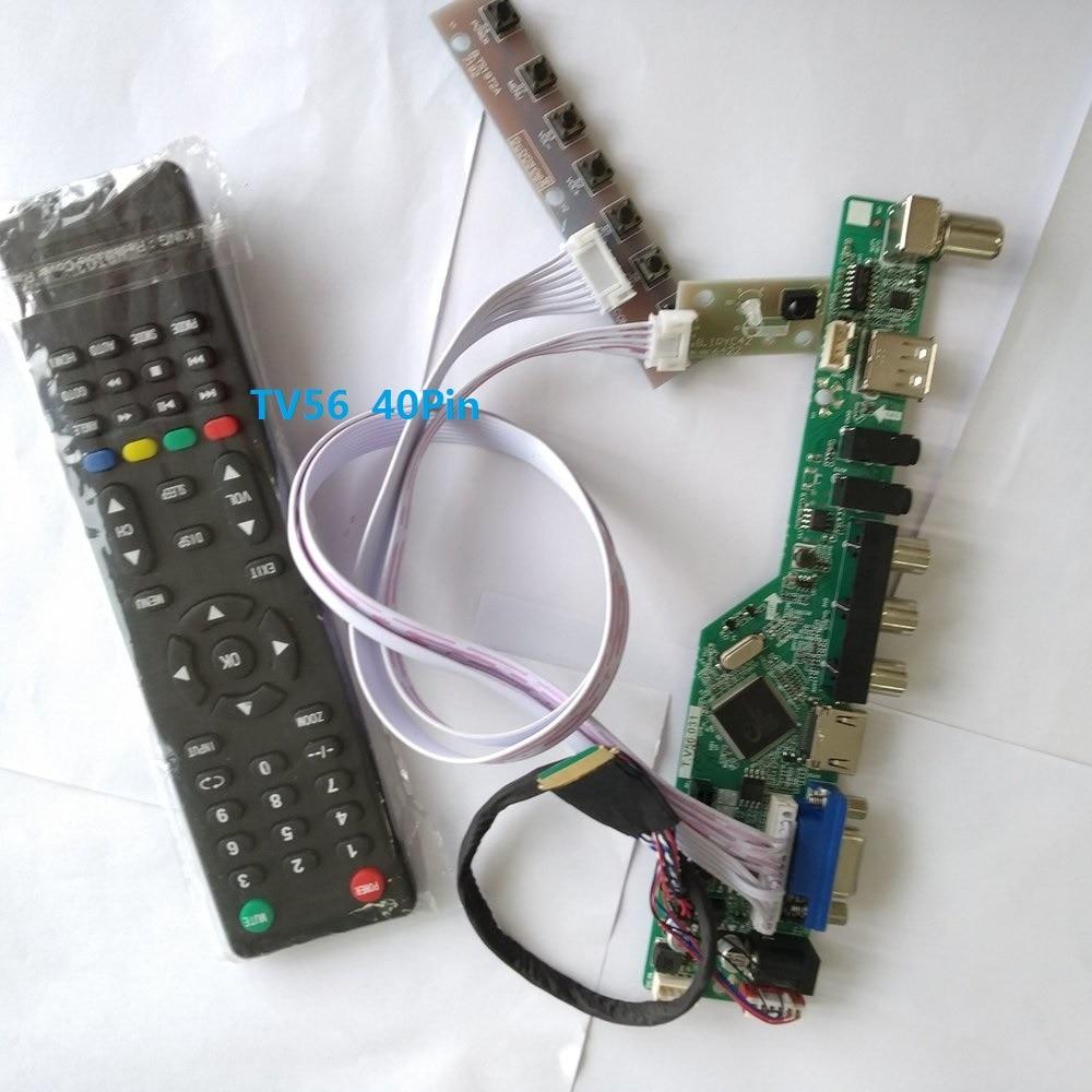 DVI TL Audio LCD Driver Controller Kit per LP156WH3 VGA tlsa 1366X768 SA HDMI