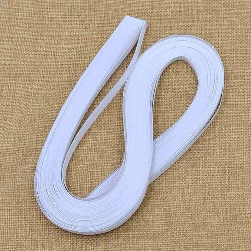 Hot 120pcs 5mm White DIY Paper Folding Paper Art Quilling Origami Material MDD88