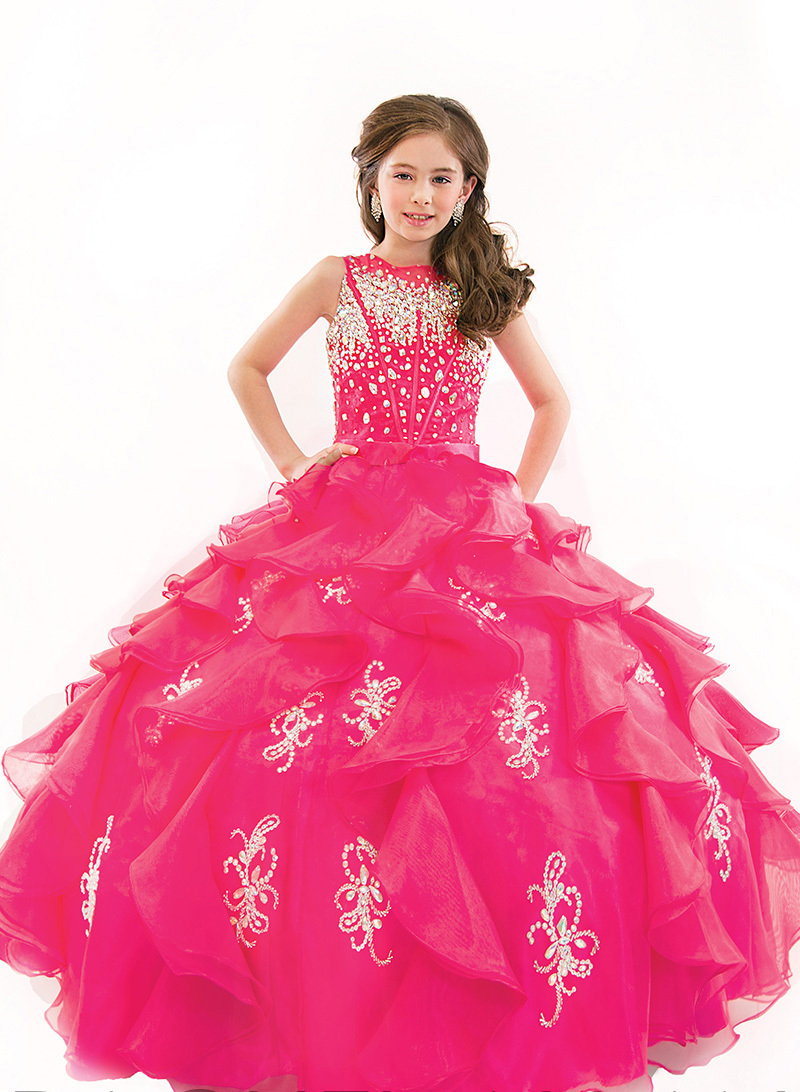Aliexpress.com : Buy 2016 Kids Junior Beauty Pageant Dresses For ...