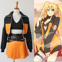 Naruto Uzumaki Naruto Female Dress Sex Reversion Christmas Party Halloween Uniform Outfit Cosplay Costume Customize Any Size