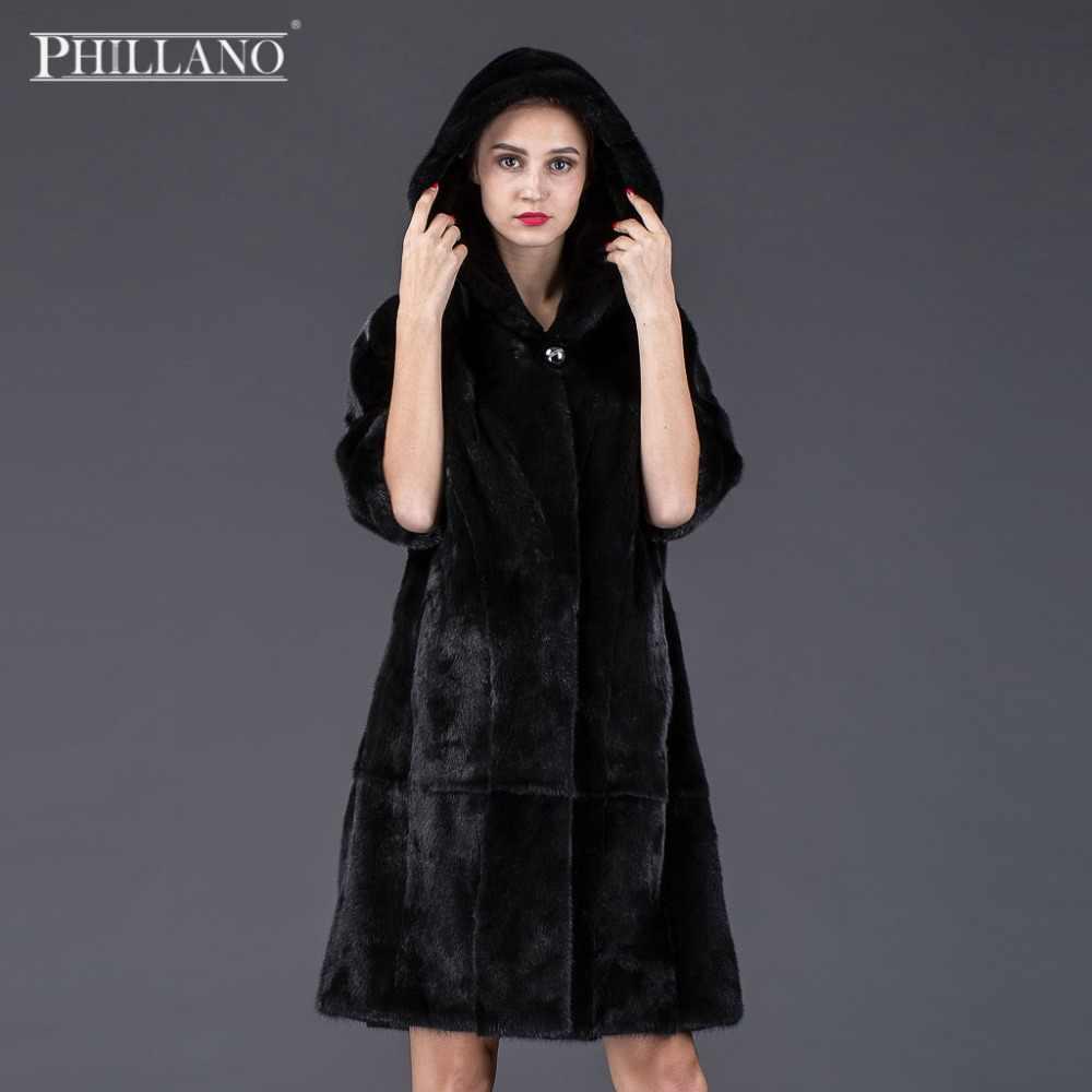 mujeres abrigo de ropa Venta de piel Phillano visón Premium y7gbf6