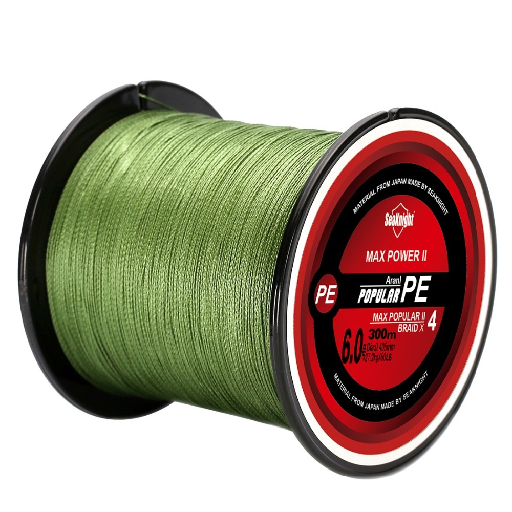 Tri-poseidon Serie  4 Strands Trenzada 300M Fishing Line Japan Multifilament 8LB 10LB PE Twisted wire 15LB 20LB