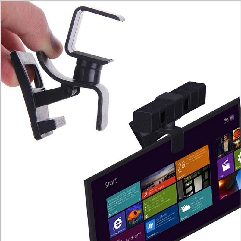 TV Clip Mount Monitor Clamp Braket for Sony PlayStation 4 PS4 Move Eye Camera Sensor Stand Holder