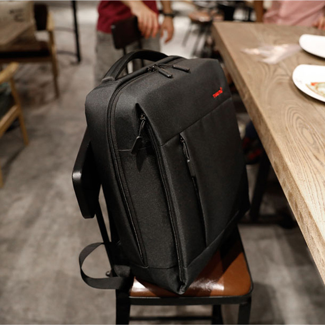 Tigernu Brand Slim Backpack USB charging Men 14 15.6 inch Laptop Backpack Women Splashproof Simple School Backpack Bag for Teens 5