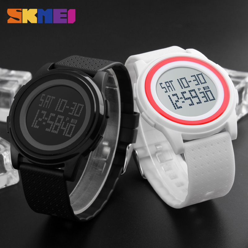 New Arrival Fashion Casual <font><b>SKMEI</b></font> Brand Waterproof Watches Women Lovers Sport Watch With Very Comfortable Soft Band <font><b>1206</b></font> image